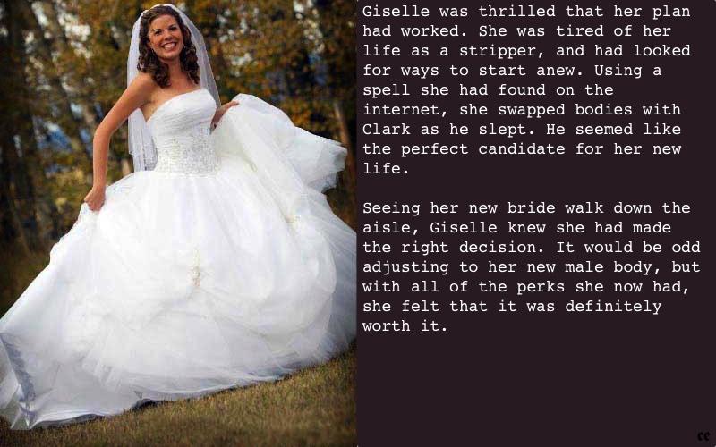 Erika's Captions: Bridal Bust