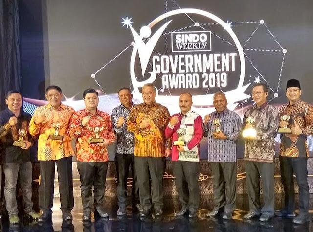 MUBA Raih Award Goverment Sindo Weekly 2019 Kategori Inovasi Infrastruktur