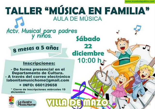 Taller de Música en Familia en Villa de Mazo
