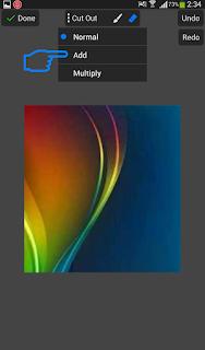 Cara edit foto efek serpihan di picsay pro