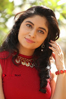 Telugu Actress Zahida Sam Latest Pos in Red Gown at RF Films New Movie Opening  0226.JPG