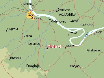 vladimirci mapa Per@ Travel: VLADIMIRCI vladimirci mapa