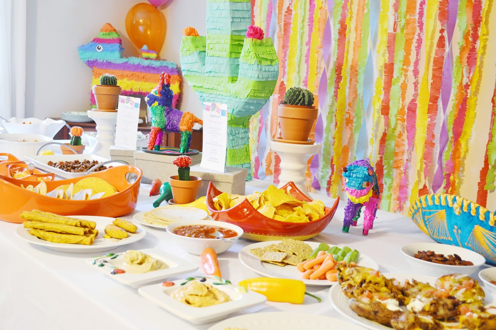 Mexican Food On A Table