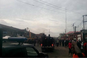 Photos: Tears As Young Boy Dies Of Stray Bullet In Imo As Govt Begin Market Demolition