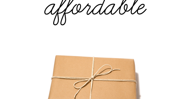 Last Minute Long Distance Affordable Gifts
