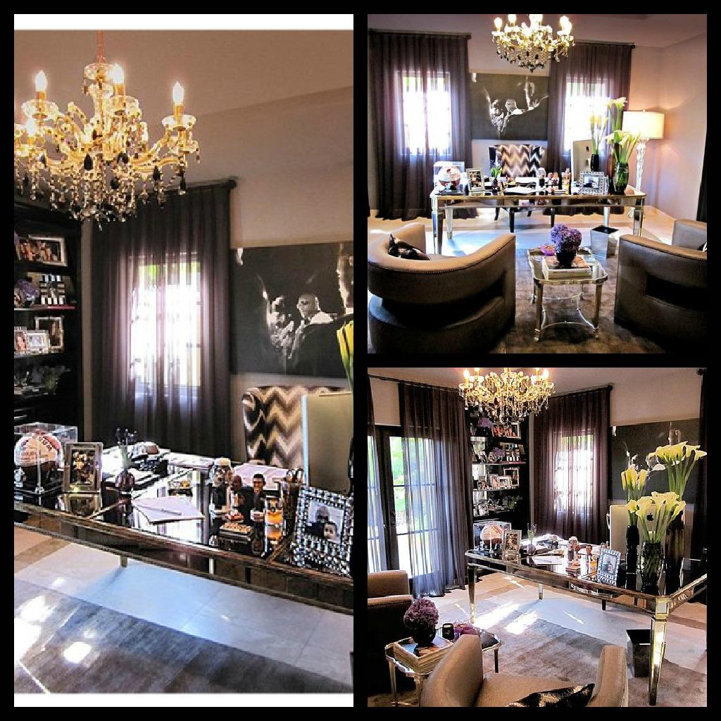 Khloe Kardashian Bedroom: C2Design: Attractive Opposites