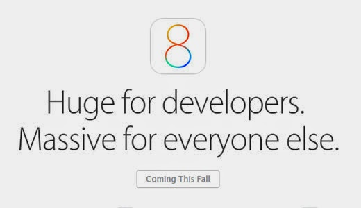 iOS 8 - coming this fall