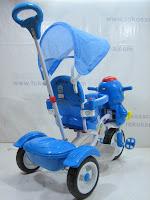 4 Sepeda Roda Tiga GoldBaby F7-1 Bebek in Blue
