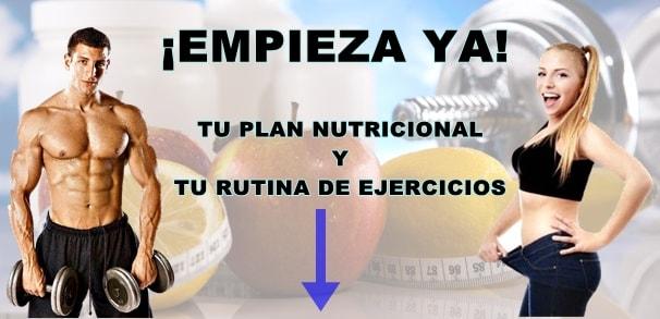Plan nutricional y dieta personalizada para cada persona