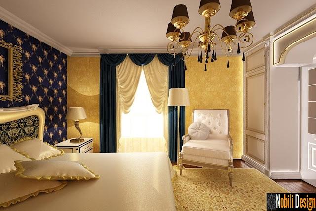 Amenajarea unui dormitor clasic - Amenajari interioare case clasice Bucuresti