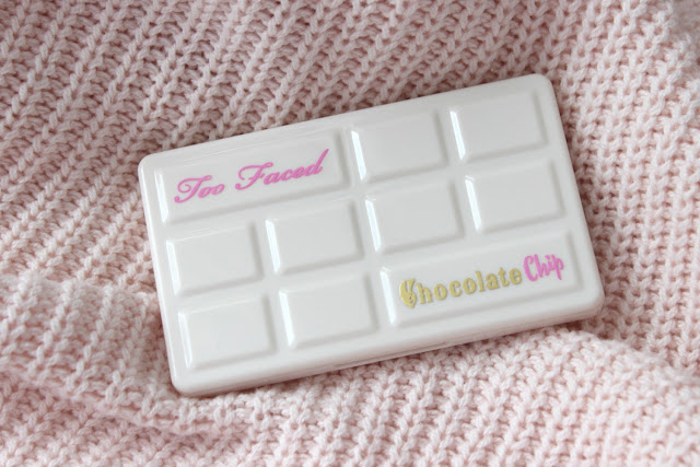 Too Faced Chocolate Chip palette eyeshadow palette