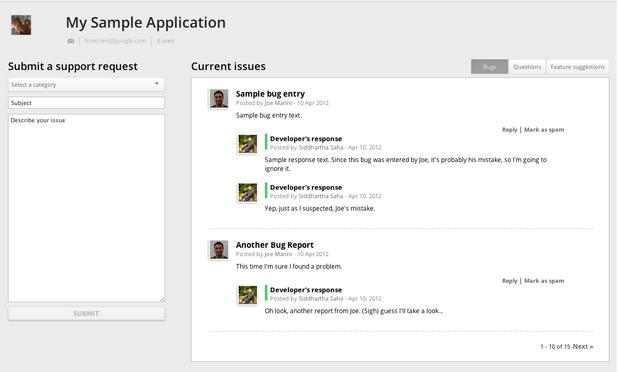 Chromium Blog: Customer Feedback Improvements in the Chrome