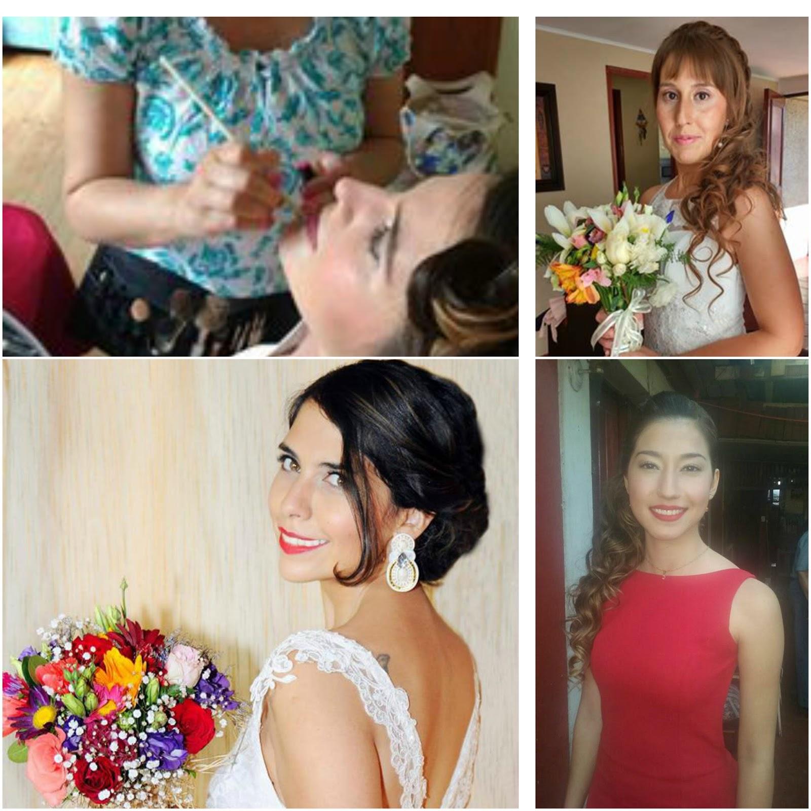 Peinados de novia a domicilio santiago