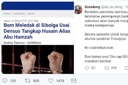 Bom Meledak, JS Prabowo: Dan Alumni Sambhar pun Terlupa! Tweet Doradong Jadi Sorotan
