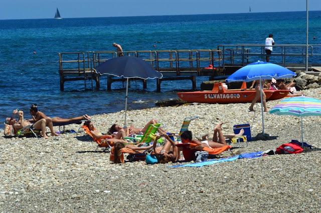Praia Torre Quetta em Bari