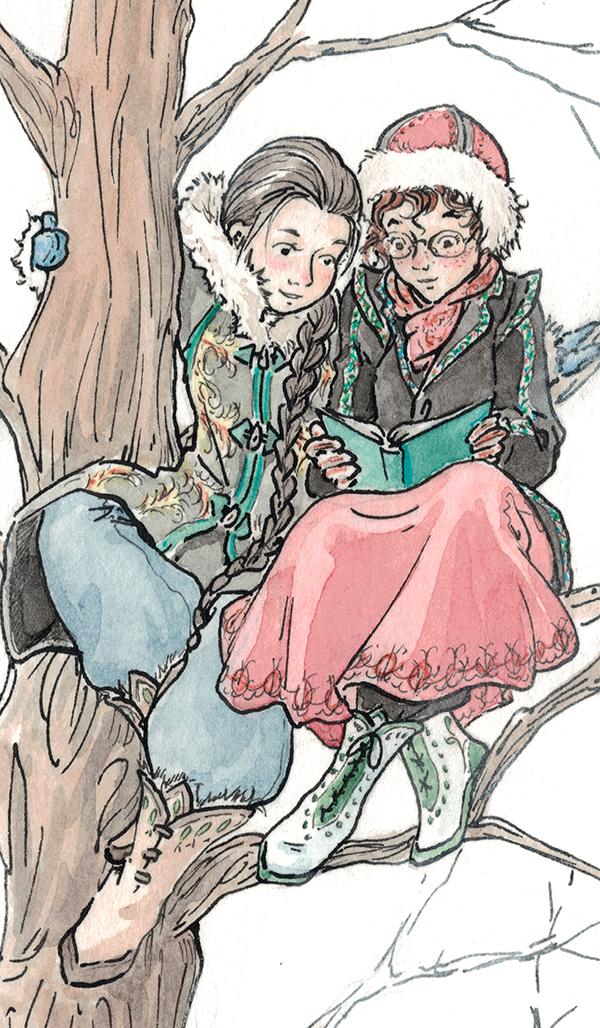 Maïwenn et Lily Rose - OC d'Astate