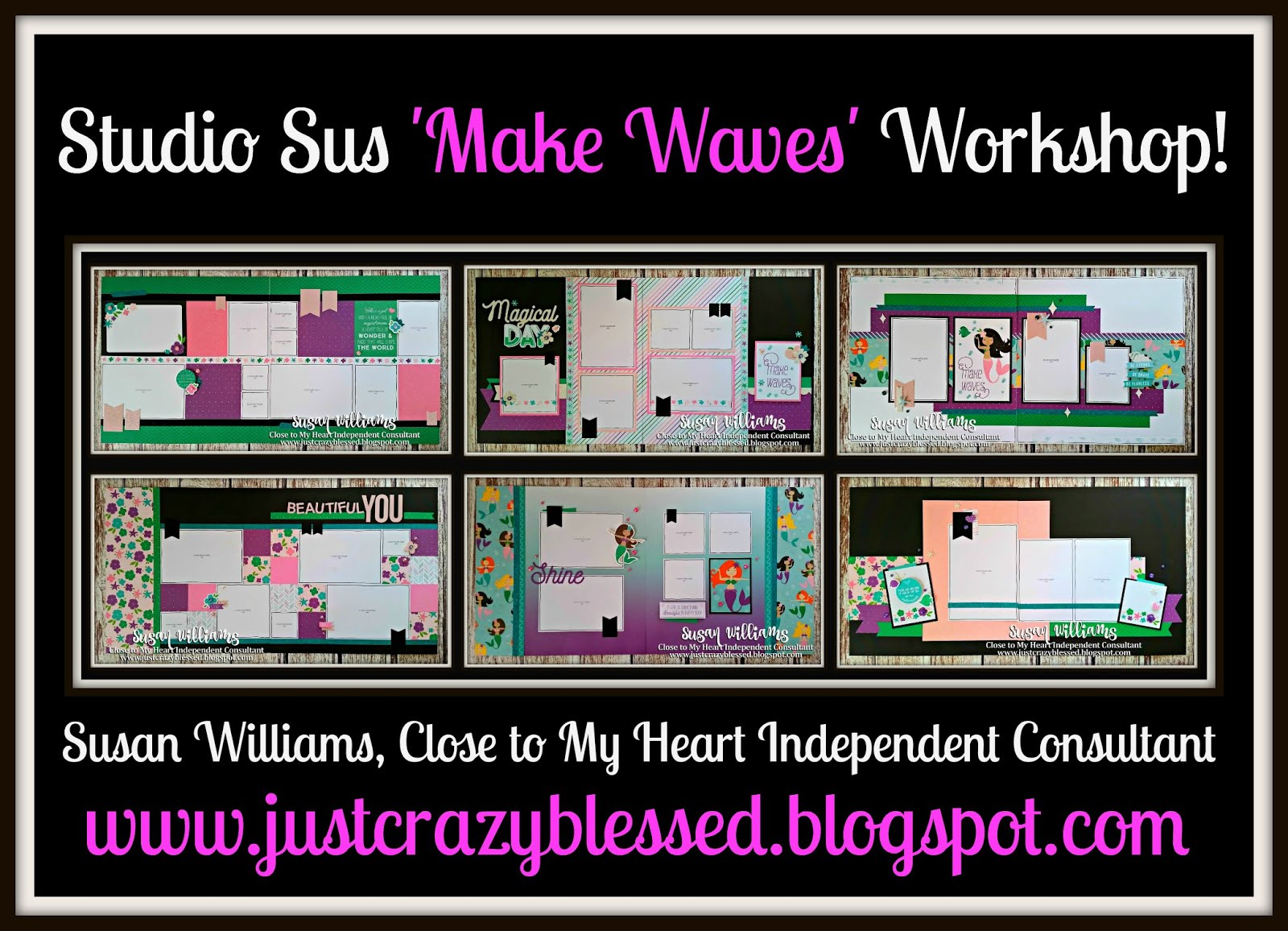 'Make Waves' Scrapbooking Workshop!