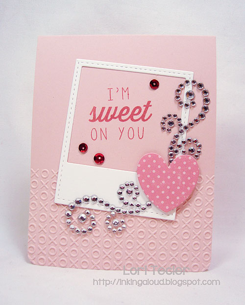 I'm Sweet on You-designed by Lori Tecler-Inking Aloud-stamps from Reverse Confetti