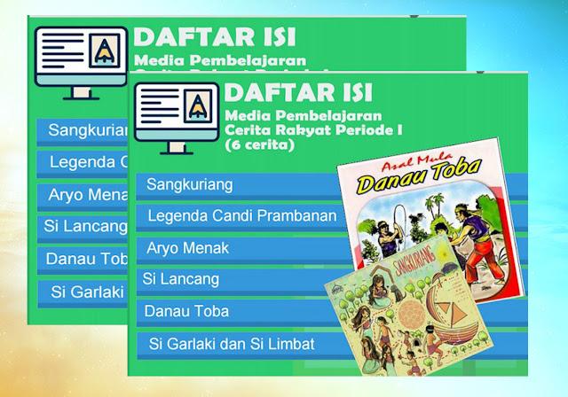 Media Pembelajaran Cerita Rakyat Nusantara Power Point