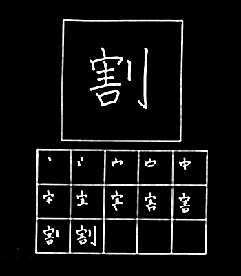 kanji to divide