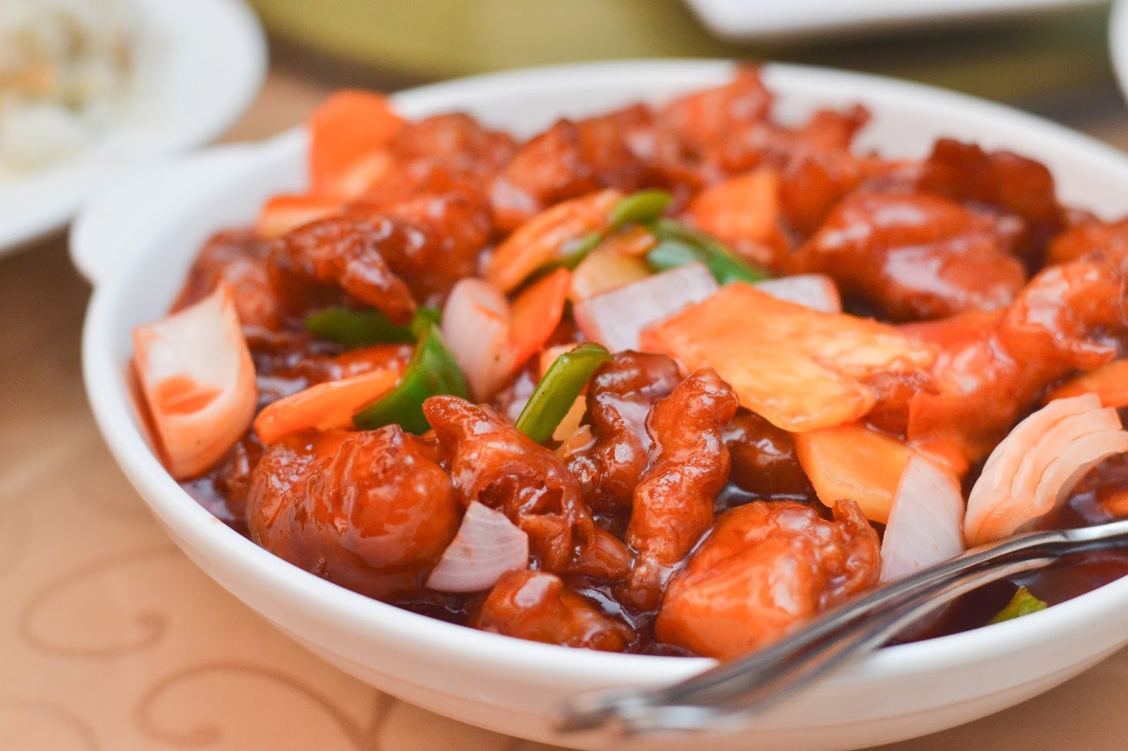 Chinese Sweet & Sour Chicken in Nigeria