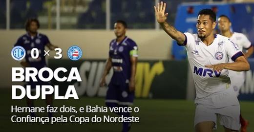 Bahia vence o Confiança