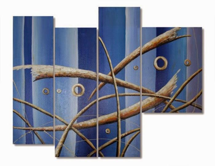 Πίνακας ζωγραφικής σε 4 κομμάτια