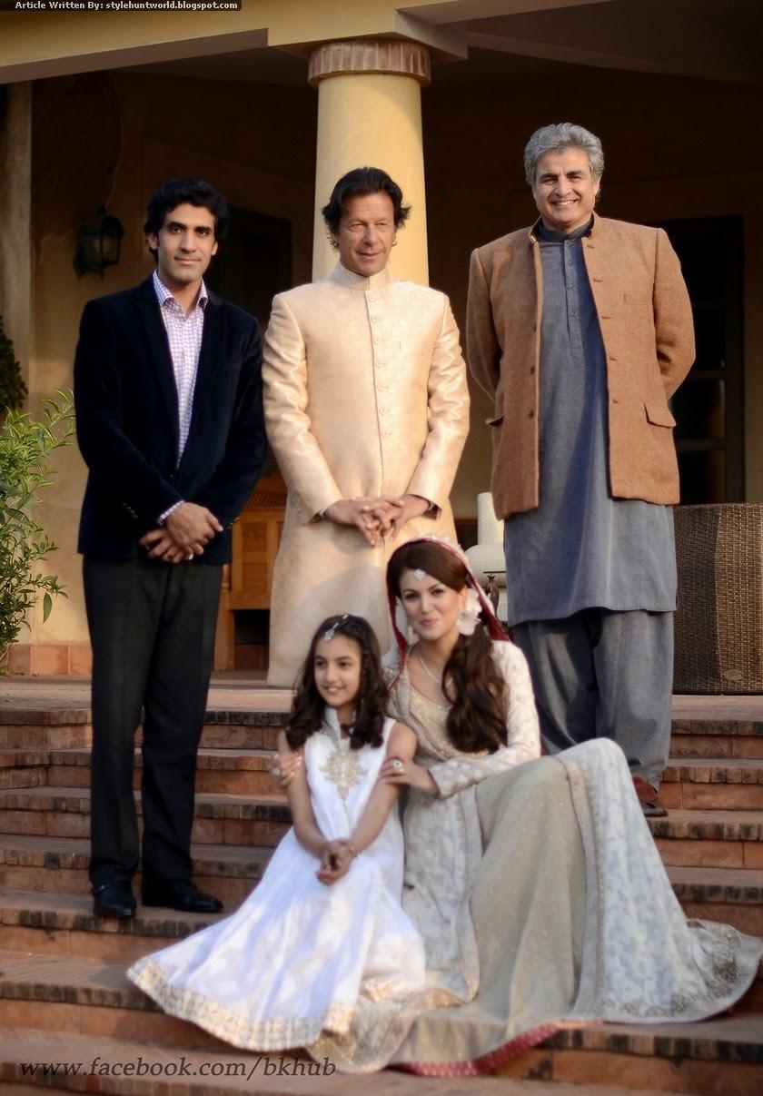 Imran Khan Wedding Album With His Wife Reham Khan Style