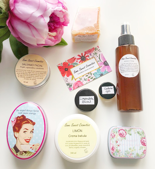 Some Sweet Cosmetics, cosmética natural sorprendente + S O R T E O !!!