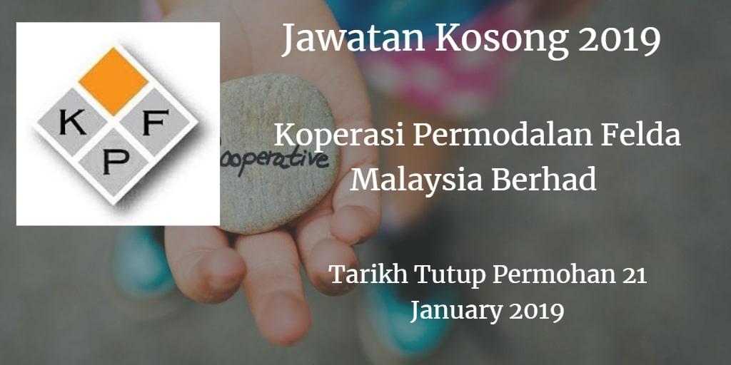 Jawatan Kosong KPF 21 January 2019