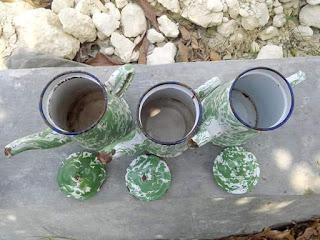 Jual 3 biji teko blirik semua kondisi layak pakai no bocor