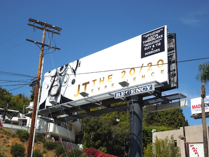 JT 2020 album billboard