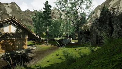 Vr Canyon Game Screenshot 1