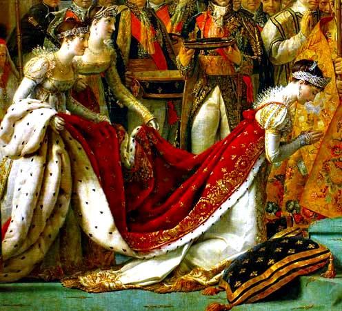 "Coronación de Napoleón en Notre-Dame, The "": Josephine"
