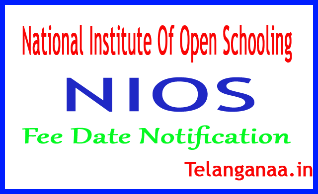 NIOS National Institute Of Open Schooling