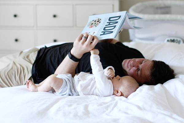 Dad and baby's first Father's Day - Your Baby's First Word Will be Dada