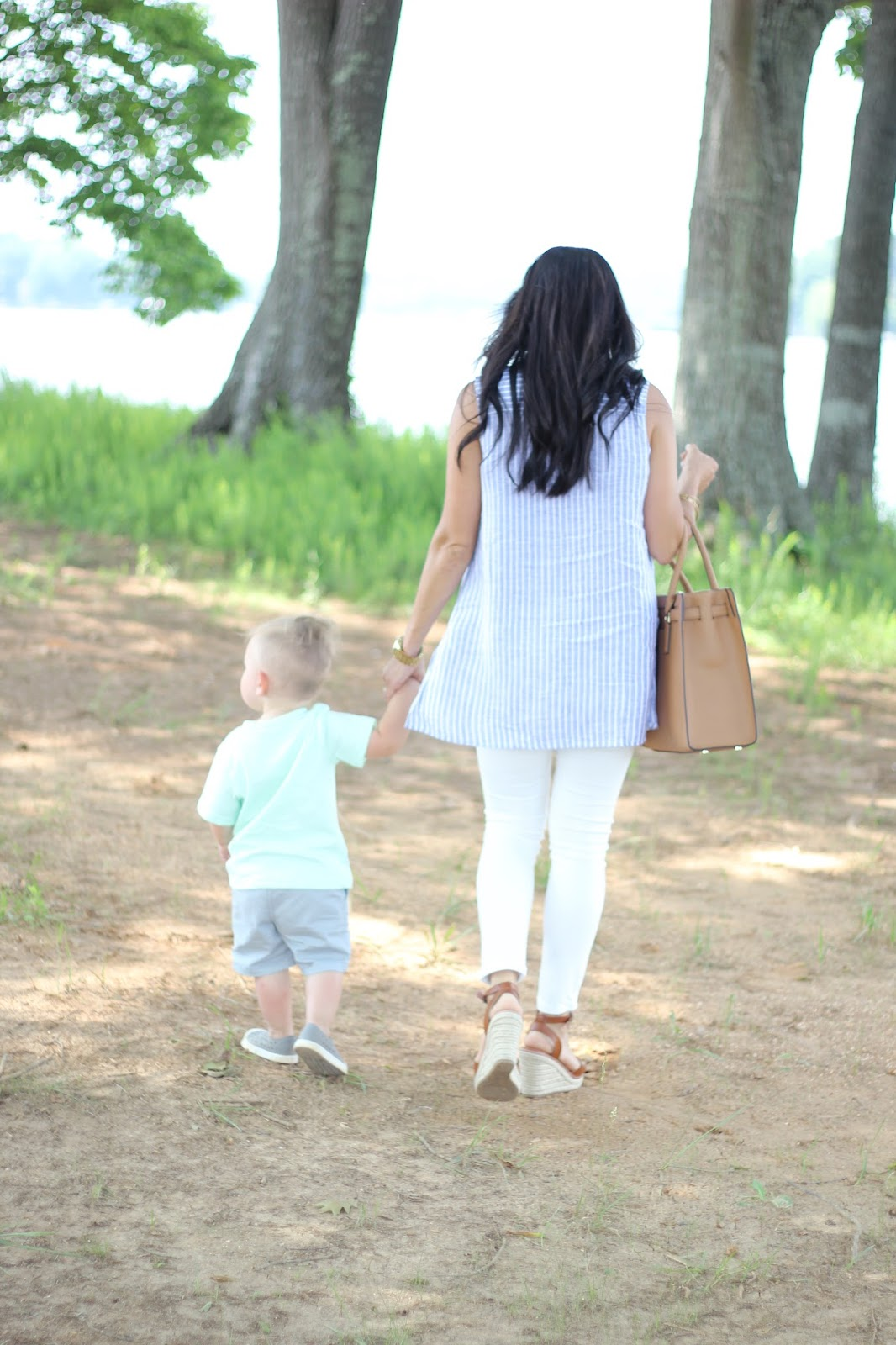 Stilettos and Diapers, Diaper Bag to Purse Transition, Boymom, Mom and me style