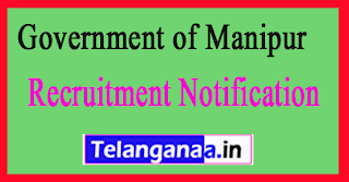 Law  Legislative Affairs Department Government of Manipur Recruitment Notification 2017