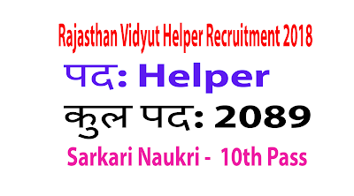 Rajasthan Vidyut Helper
