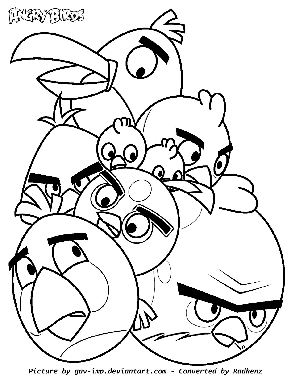 Radkenz Artworks Gallery: Angry Birds