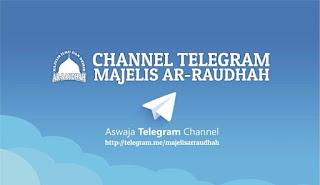 Habib Novel Luncurkan Channel Telegram Majelis ArRaudhah