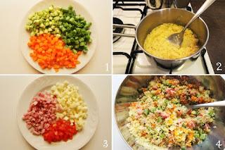 foto preparazione Ricetta insalata di cous cous estiva per bambini