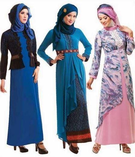 20 Model Baju Batik Kombinasi Brokat Terbaru 2018