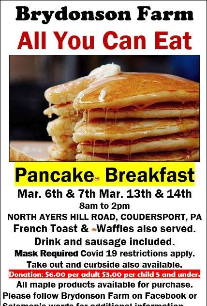 3-6/7/13/14 Pancake Breakfast