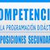 COMPETENCIAS CLAVE PROGRAMACIÓN DIDÁCTICA LOMCE OPOSICIONES SECUNDARIA
