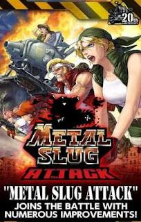 METAL SLUG ATTACK Apk Mod Data (Unlimited AP) Versi Terbaru