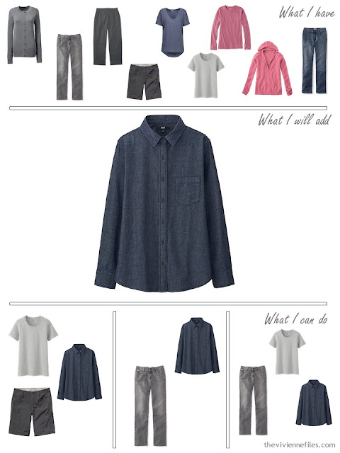 how to add a denim shirt to your wardrobe