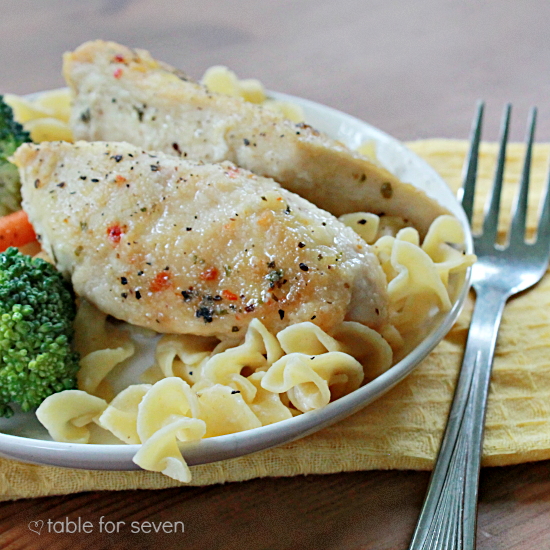 {Crock Pot} Lemon Chicken