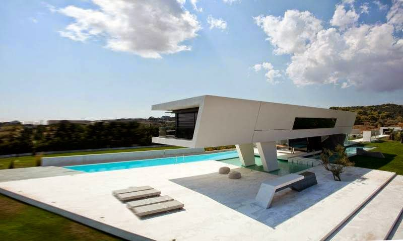 Modern House with Pool - H3 - 314 Architecture Studio