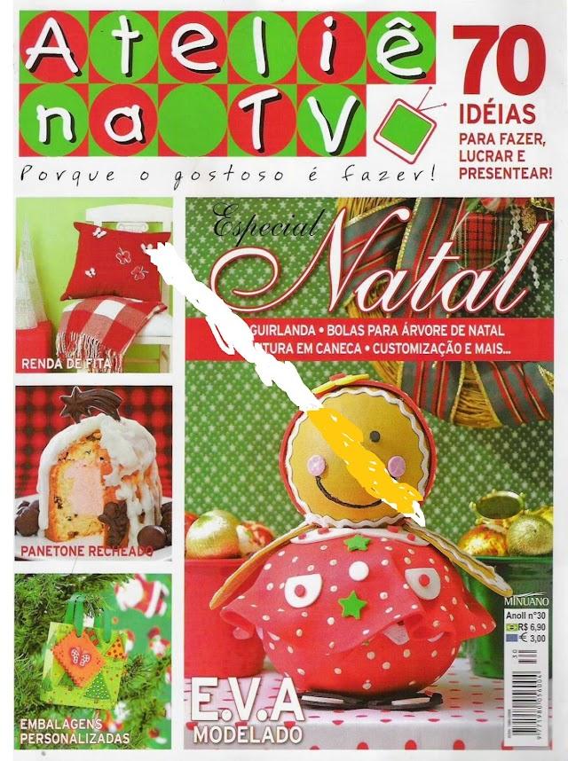 E.V.A Especial DE Natal-Atelie Na TV